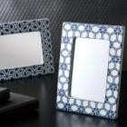 CERAMIC FLAME STAND MIRROR