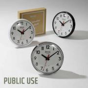 RED POINTER WALL CLOCK