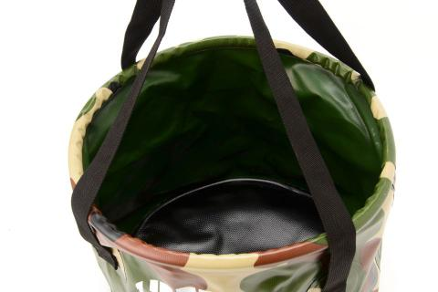LIBERTAS WATERPROOF CAMO FOLDING BUCKET