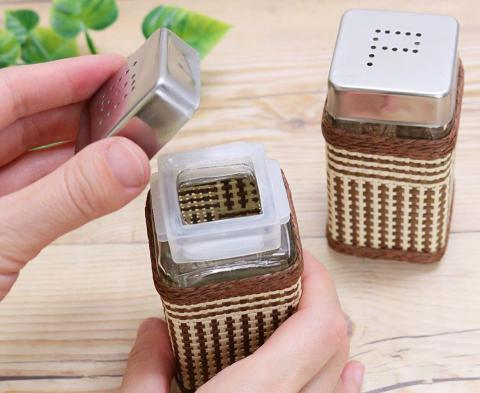 MESH CONTAINERS SALT&PEPPER SET