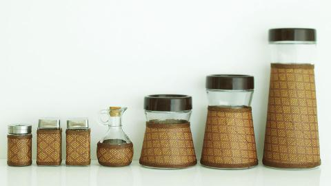 MESH CONTAINERS OIL/VINEGAR