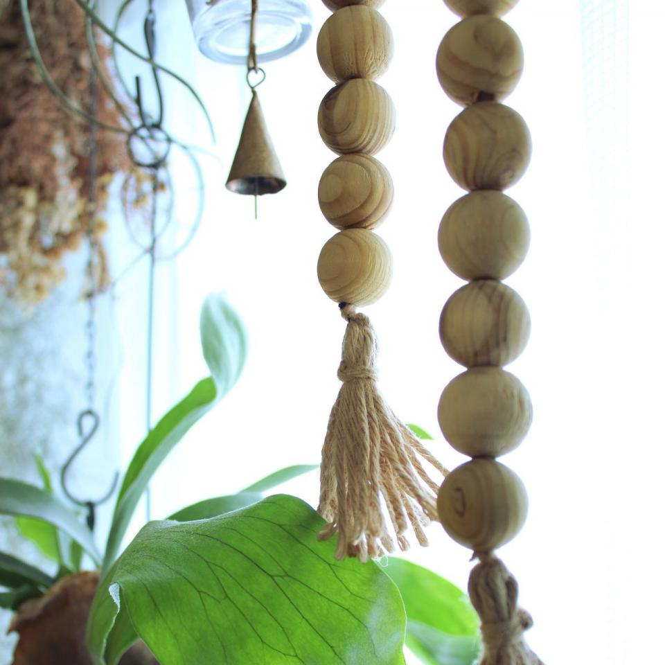 SCENTED WOODEN BALL