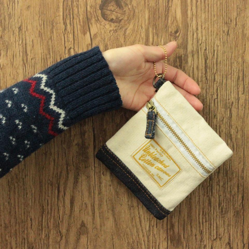 LETTERED COIN PURSE